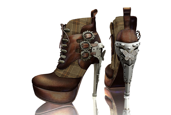 Steampunk Ankle Boots