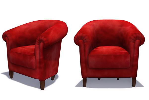 couch max cgtrader wales brabbu models model furniture sofa single